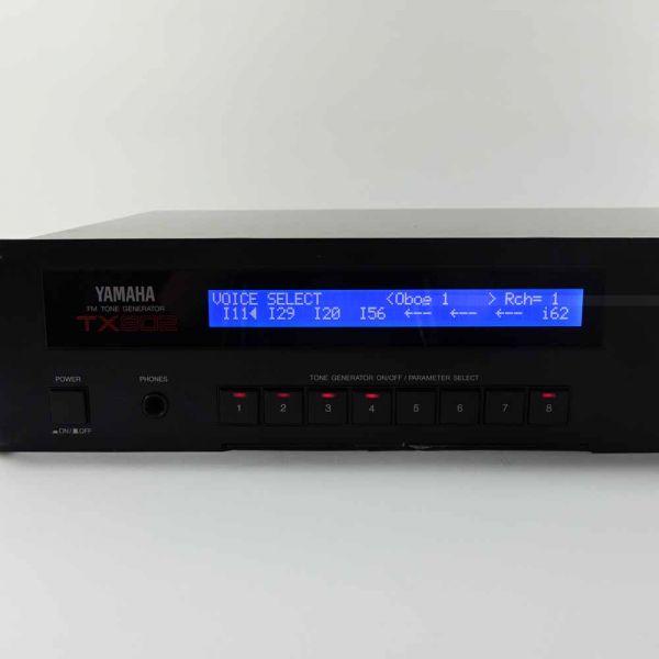 Yamaha TX802 LCD Display Neu Blau