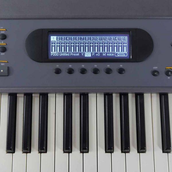 LCD Display 5005, Schwarz E-mu E4K