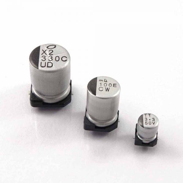 Elko 1uF/50V SMD für Audio, Nichicon
