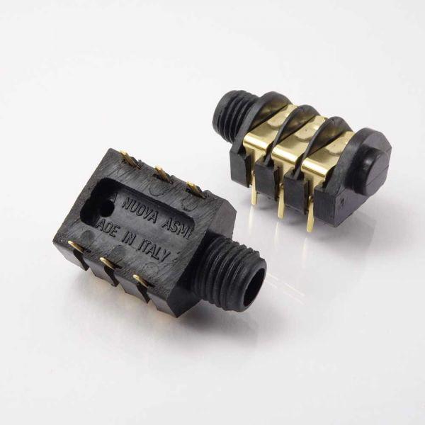 Klinkenbuchse für Printmontage 6,3 mm Stereo