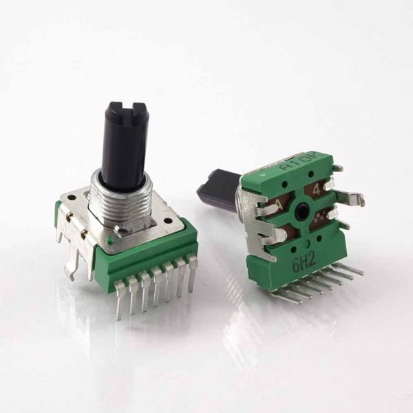 Stereo Drehpotentiometer B-14mm L-F25 A10K