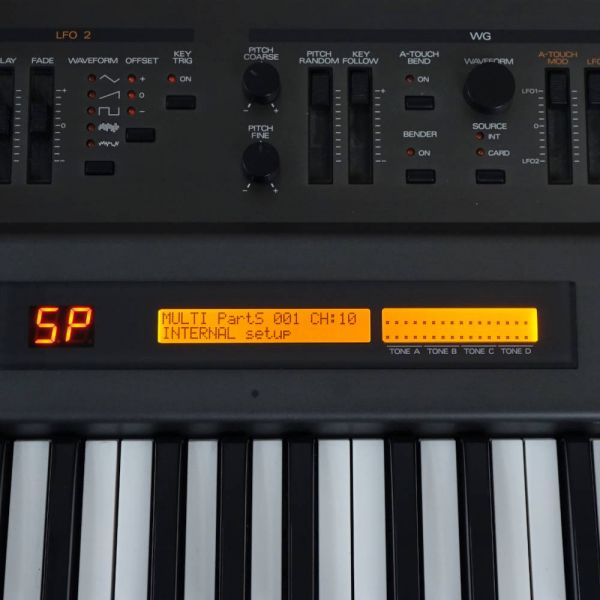 LCD Display Roland JD-800 Rot