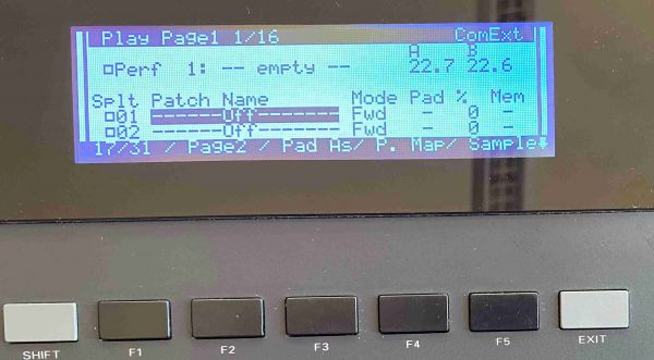 LCD Display 5005, Schwarz DJ-70