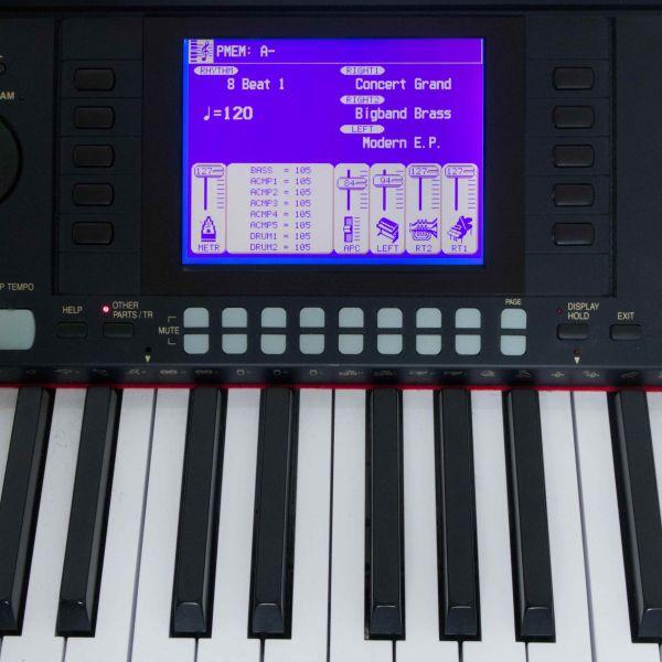 LCD Display Technics PR-603 Blau