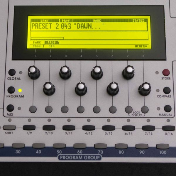 LCD Display 5005, Gelb ALESIS Andromeda
