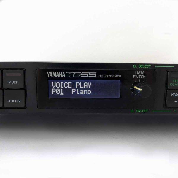 Yamaha TG55 LCD Display schwarz Neu