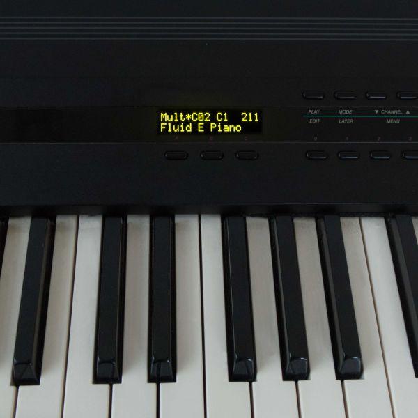 OLED Kurzweil K1200 Gelb