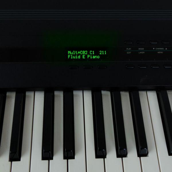 OLED Kurzweil K1200 Grün