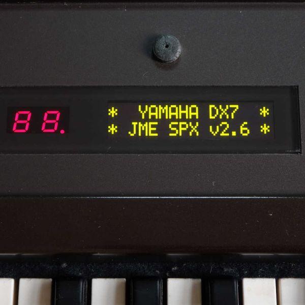 OLED Display Yamaha DX7 Gelb