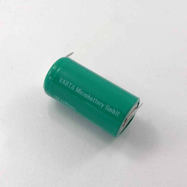 Batterie 2/3 mit Lötbeinen für Casio
