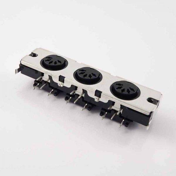 Kawai 3 fach MIDI Buchse 5 Pol, YKF51-5046