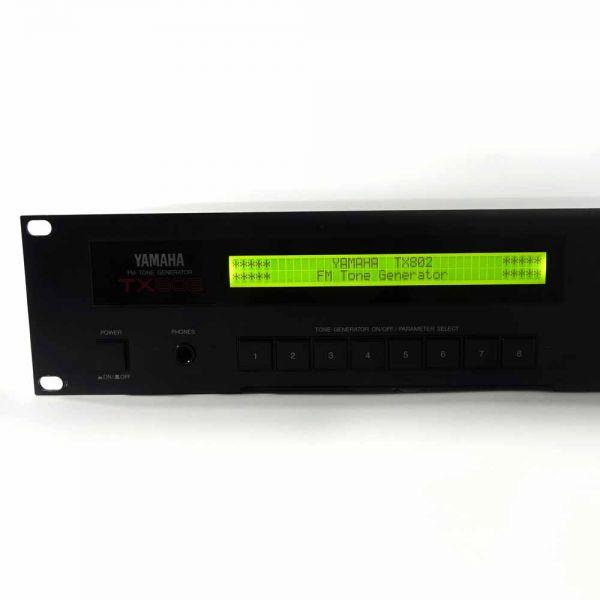 Yamaha TX802 LCD Display Neu Gelb