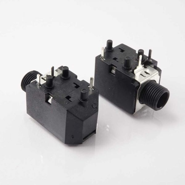 Nord Klinkenbuchse für Printmontage 6,3 mm Stereo