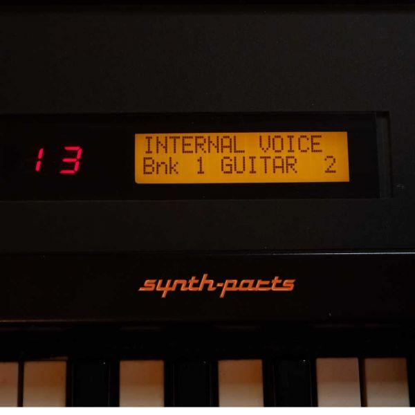 Yamaha DX7 LCD Display Neu Orange