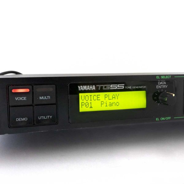 Yamaha TG55 LCD Display Gelb Neu