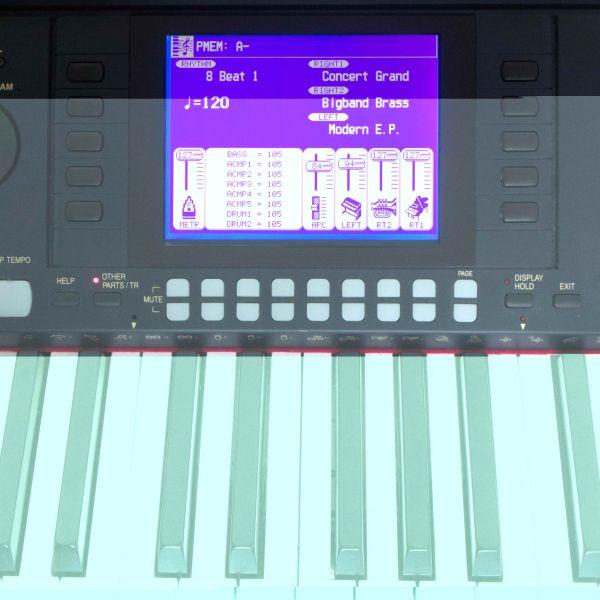 Technics PR-603 LCD Display neu