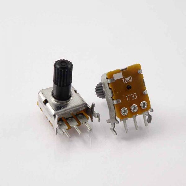 Potentiometer für LCD Kontrast Kurzweil