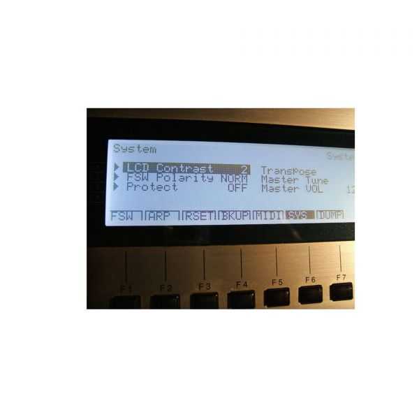LCD Display 5005, Schwarz Kawai K5000