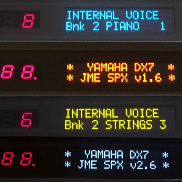 OLED Display Yamaha DX21