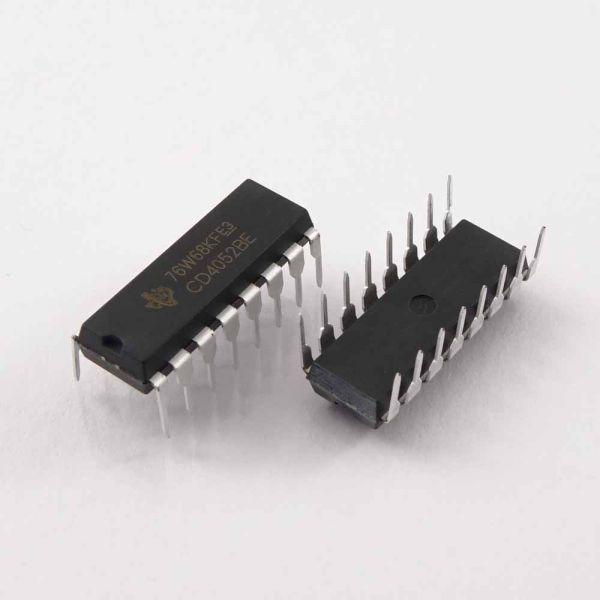 CD4052BE Multiplexer DIP16