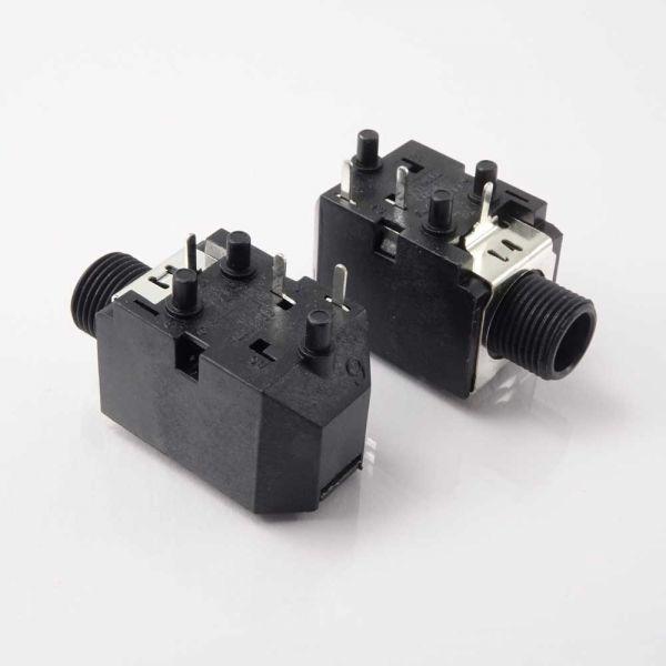 Klinkenbuchse Print 6,3 mm Mono Switch