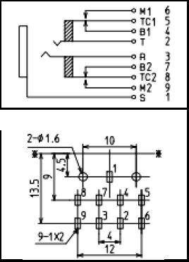 Jalco YKB21-5344 socket Klinkenbuchse 3,5 mm Print Stereo