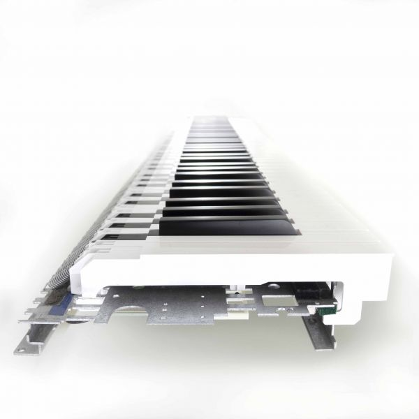 Tasten K90V Tastatur cremeweiss
