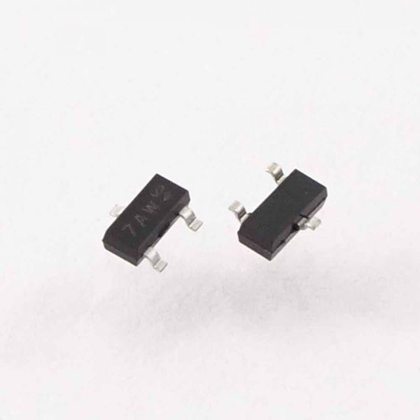 Transistor MMBT3904 SMD Ersatz für 2SD601A und 2SB709A