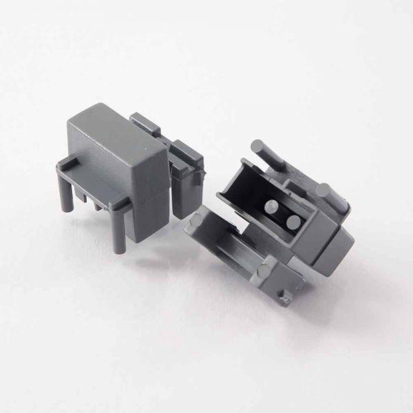 Button einf Pa3 17x7 mm (ohne Sichtfenster)
