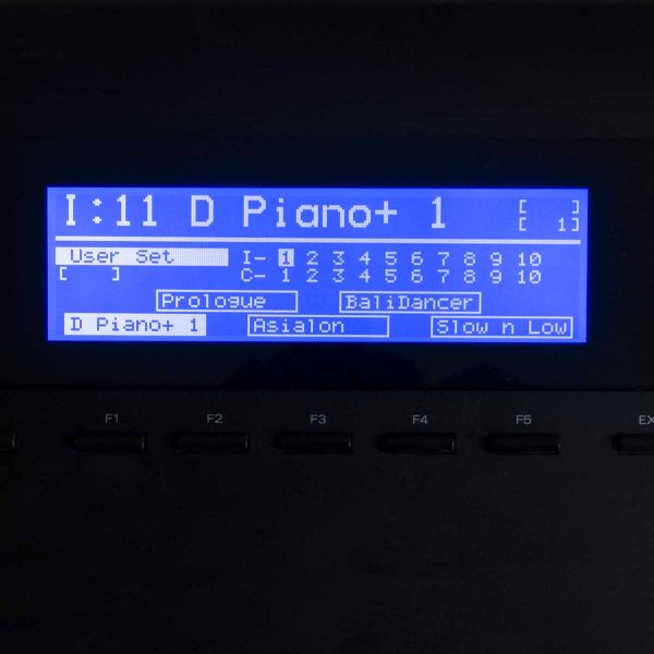 LCD-Display für Roland D-70, Revision 02, Blau