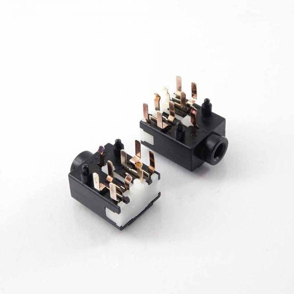 Klinkenbuchse für Printmontage 3,5 mm Stereo, YKB21-5344