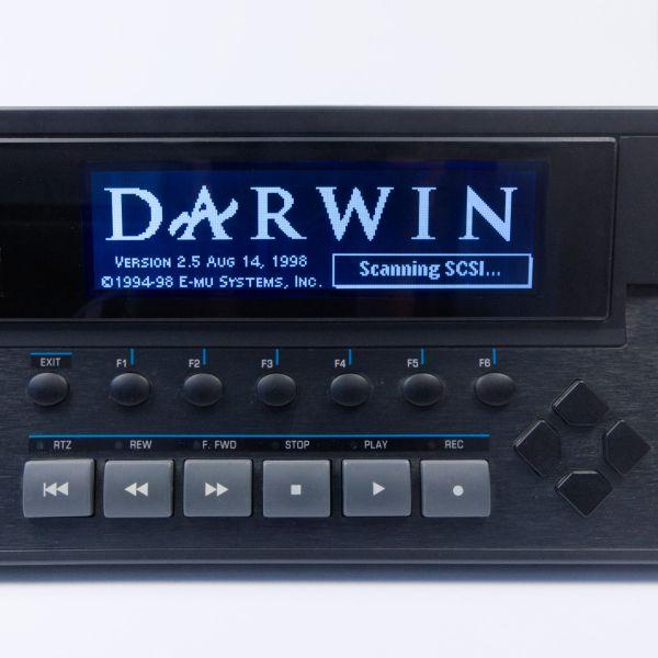 E-mu E4XT LCD Display Schwarz mit Kabel neu