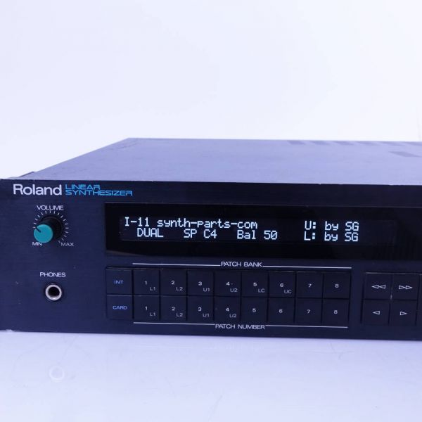 OLED Display Roland D-550 weiss