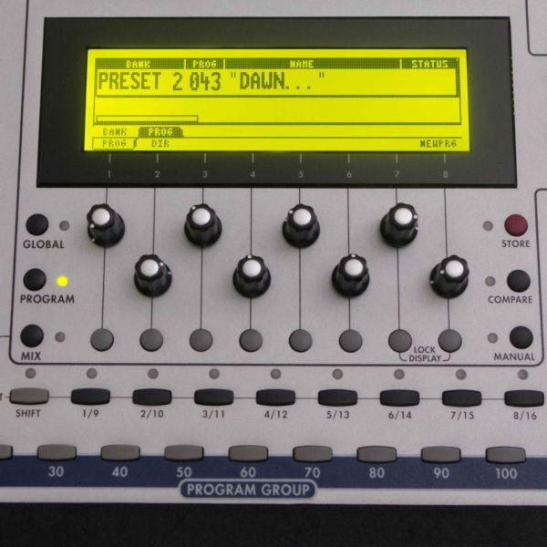 LCD Display Gelb mit Kabel für ALESIS Andromeda