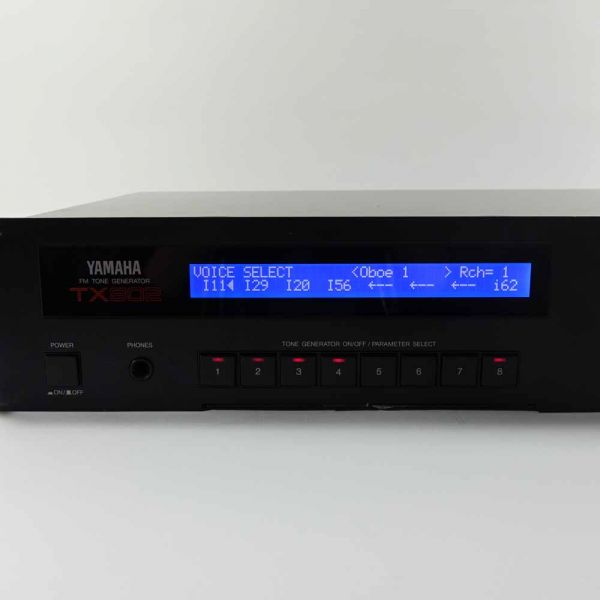 LCD Display Yamaha TX802 Blau