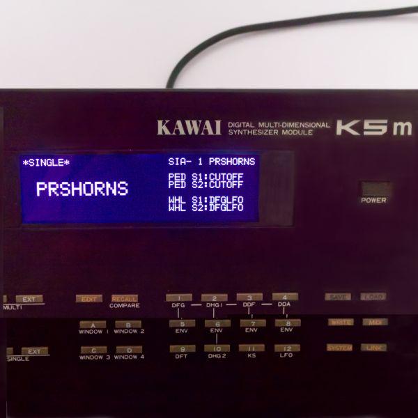 LCD Display Schwarz mit Kabel für Kawai K5, K5m