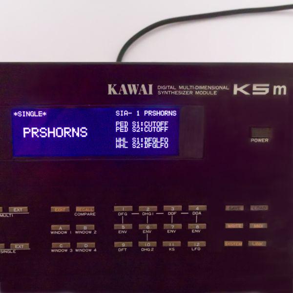 LCD Display 5005, Schwarz Kawai K5