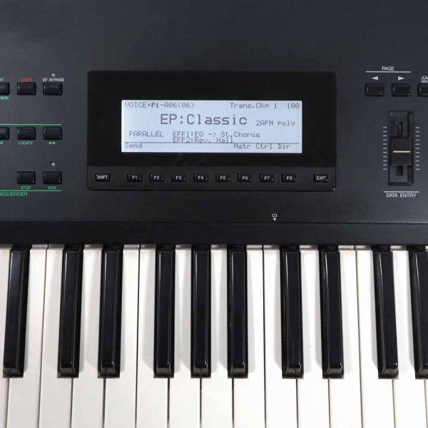LCD Display weiß mit Kabel für Yamaha SY99, SY77, TG77