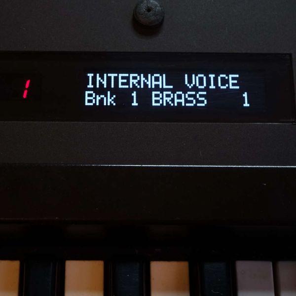 OLED Display Yamaha DX7 Weiß