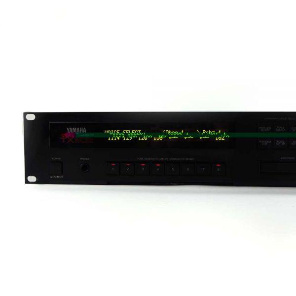 Neu OLED Display Yamaha TX802 GELB